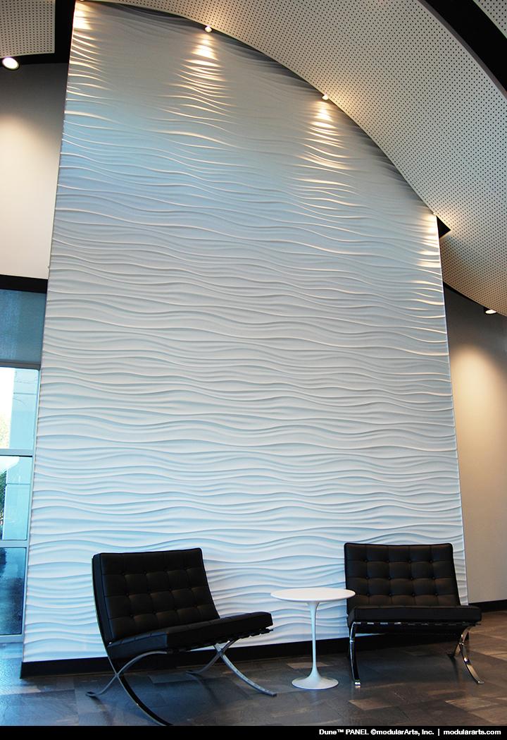 Dune Wave Wall Panel