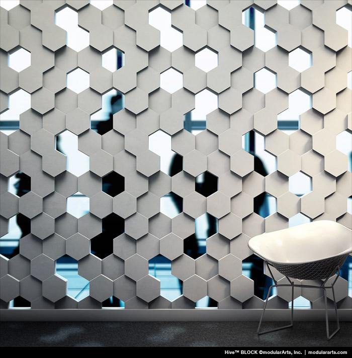Interlockingrock Blocks For Screen Wall Parions
